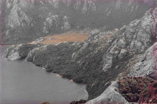 Lake Oberon campsites in the scrub