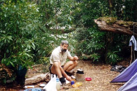 Damper Creek camp
