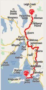 Trail Route - Hans Heysen