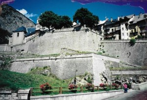 Briancon Old town fort