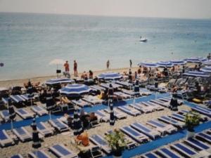 Nice beachfront