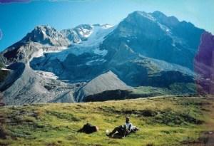 Glacier on La Grande Casse