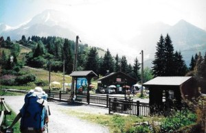 Train station to Mont Blanc