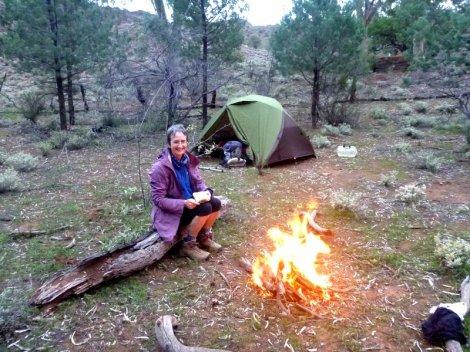 Campsite at Parachilna Gorge