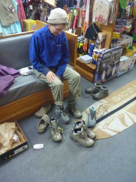 Buying new boots at Victor Harbour - which ones to choose?