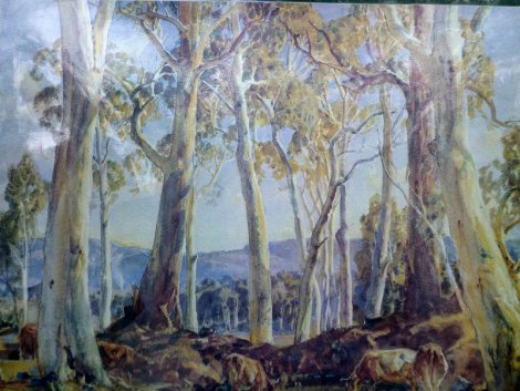 A Hans Heysen Painting