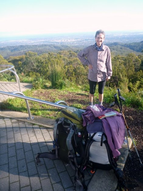 View of Adelaide from Mt Lofty