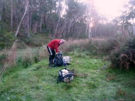 Stealth campsite at Morialta Consevation Park