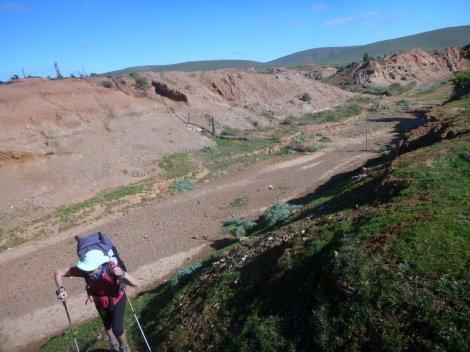 Severe erosion