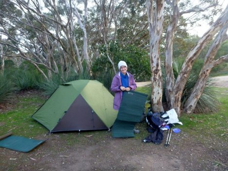 Campsite for Day 1 at Cobbler Hill.