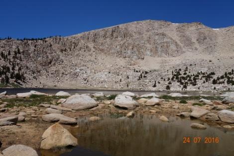 Cirque and lake