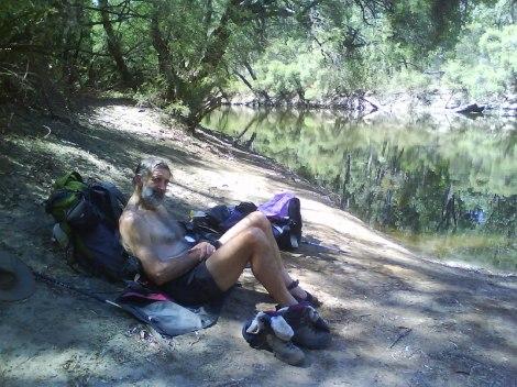 Swim on the Murray