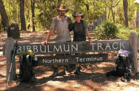 Northern end of the Bibbulman Track