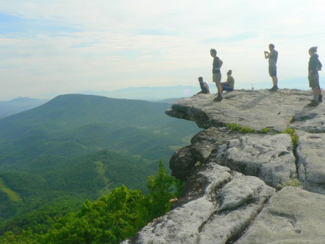 McAffee Knob in North Carolina